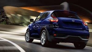 2016 nissan juke cosmic blue rear profile original 300x169 کاتالوگ نیسان جوک مدل 2016
